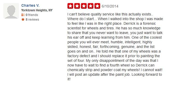 Wheel Repair Powder Coating specialist