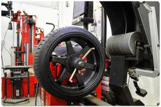 wheel repair road force balancing